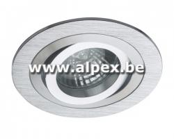 Support Spot aluminium Brossé