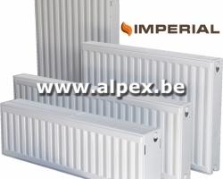 Radiateur  IMPERIAL  T22   300 x 600       816 W
