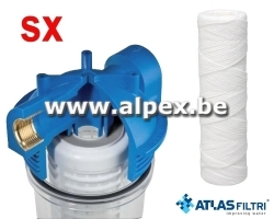 "ATLAS Filtre SX 10"" Senior simple Complet"