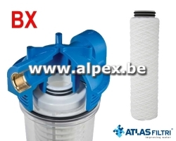 "ATLAS Filtre BX 10"" Senior simple Complet"