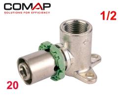 Culasse à sertir simple 20 X 1/2F COMAP (52mm)