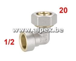 Coude Femelle Alpex 20 x 1/2F