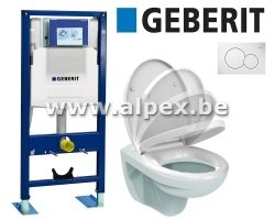 GEBERIT WC PACK Complet  240€ HTVA