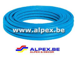 Tuyau Alpex   isolé   50 m 16 x 2.0  bleu