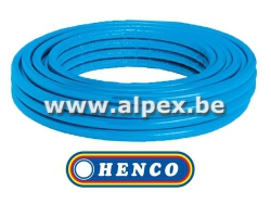Tuyau Alpex  isolé   HENCO   100 m 16x2.0 bleu