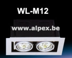 Support spot led M12