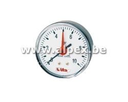 Manometre axial 10 bar