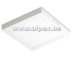Plafonnier LED Apparant carre 24W