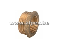 Reduction 3/4M x 3/8F - Laiton