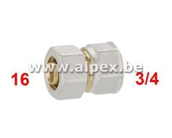 Raccord Femelle Alpex 16 x 3/4F
