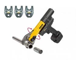 REMS Mini-Press ACC Li-Ion Basic-Pack + 3 pinces à sertir Mini