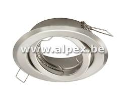 Support orientable inox brosse