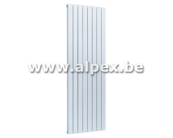 Radiateur vertical acie 180 x 60 x 7 cm.   1215 W