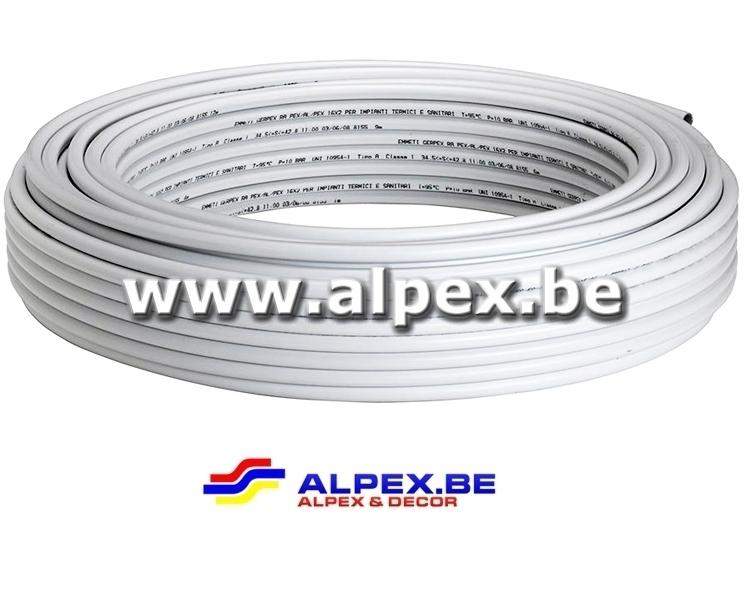 Tuyau Alpex nu 16x2.0 1 metre