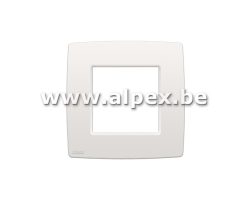 Niko Plaquette Simple BLANC