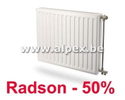 Radson compact type 22 900 x 900