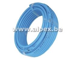 Tuyau Alpex  isolé 32x3.0  bleu 25 m