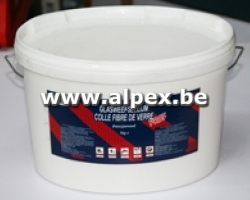 Colle pour fibre de verre, blanche, 10kg