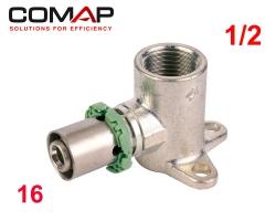 Culasse à sertir simple 16 X 1/2F COMAP (40mm)