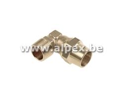 Coude Mâle - GAZ - 1/2M x 15