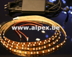 KIT  Strip  LED  Blanc froid 5m.