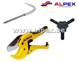 Kit outillage pour Alpex Multiskin.PRO
