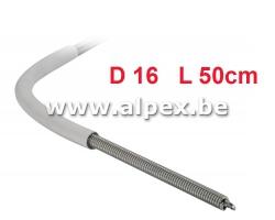 Ressort à cintrer interieur Alpex Multiskin 16 - 50cm