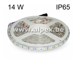 LED Strip 14w/m  12V  3000K  Ip65