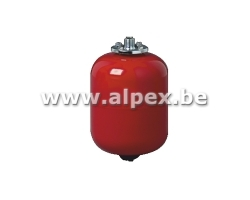 Vases d'expansion Chauffage 18L rouge