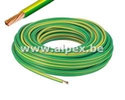 VOB 10mm² Jaune Vert 100m