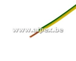VOB 1,5mm² 1m jaune et vert