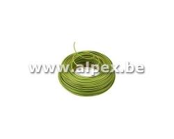 VOB 1,5mm² 100m Jaune Et Vert
